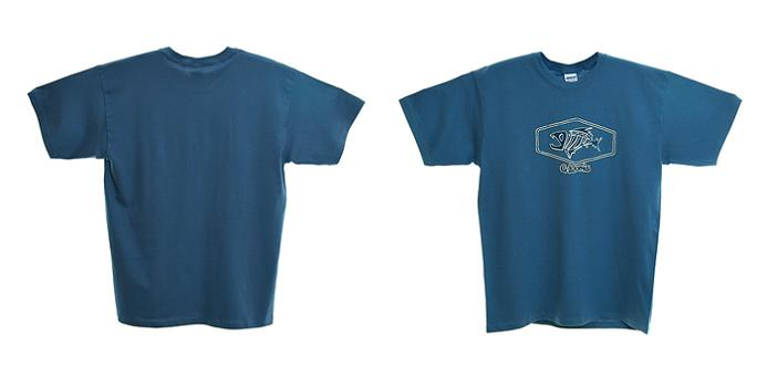 G.Loomis T-Shirt Blue with Shield Logo L
