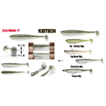 "Keitech Easy Shiner 4"" LT#35 LT Hot Tiger Colour NEW for 2018"