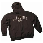 G.Loomis Brown Hooded Logo Sweatshirt