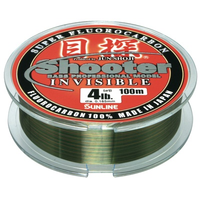 Sunline Shooter Metan Invisible Fluorocarbon Line 3.5lb x 100m