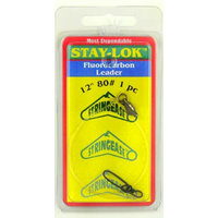 "Stringease Stay-Lok Fluorocarbon Trace/Leader 12"" 80LB"